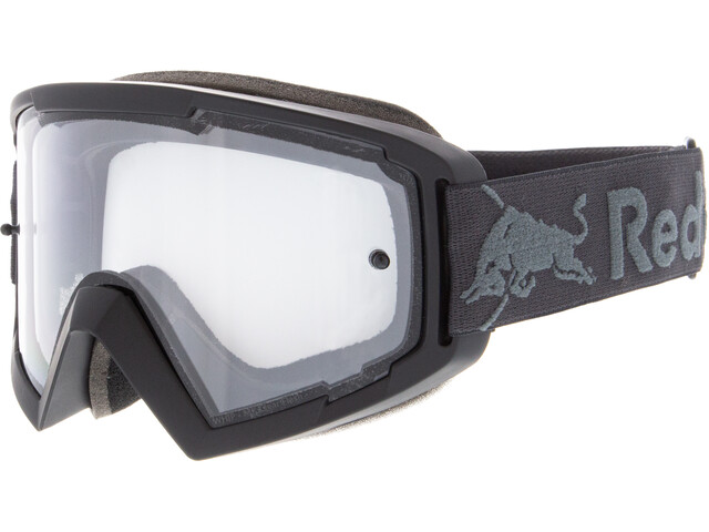 Red Bull SPECT Whip Lunettes de protection, black/clear flash/clear